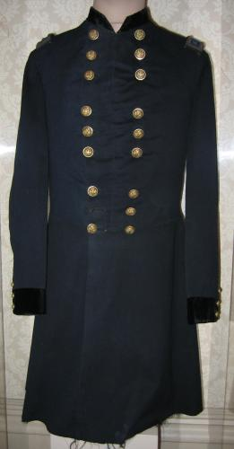 Maj Gen Meade uniform frock coat (86.13.32)